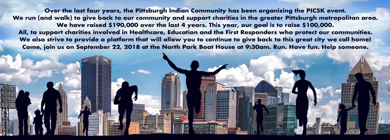 PIC5K – Pittsburgh Indian Community & Friends 1K/5K Walk/Run